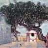 Олег Подскочин. «Гонконг. Остров Лама. Дерево у храма» (триптих)