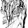 Евгения Дриго. «Канал Грибоедова» (иллюстрация к книге стихов  питерского поэта Стефана «В белом свете»)