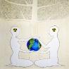 Иванова Т. Плакат «Мир будущего»