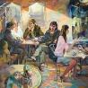 Семенушкин П.А. Дипломная работа: «Кафе. Вечернее настроение»