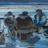 Елизавета Ленкова. «Композиция. Зимняя рыбалка»