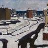 Софья Чижова. «Композиция. Зимние дороги»