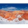 Тарасенко Г.О. «Волна в снегу», северная часть заповедника дикой природы Вермиллион Клиффс, штат Аризона (США)