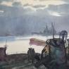 Тимофей Кушнарёв. «Вечер на рейде»