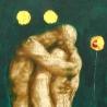 Евгений Макеев. «Адам и Ева», левая часть «Рай», правая «Ад»