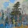 Виталий Медведев. «Молодой кедр»