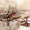 Осиповы Евгений и Оксана. «Лодки над городом»
