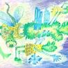 Попека Е. (7 лет) «Против ветра»