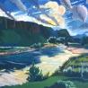 И.А. Ермолаев. «Екатериновские горы»