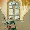 Тимофеев Н.М. «Окно мастерской»