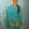 Архипова Е. «Девушка в зеленом свитере»