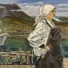 Ольга Никитчик. Автопортрет на Шикотане. 86х103, картон, масло, 1982 г..jpg