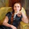 Анна Щёголева. «Александра (портрет дочери)»
