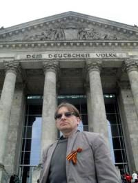Олег Подскочин. Берлин, 9 мая 2010