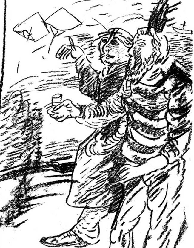 Владимир Старовойтов. «Иллюстрация к книге»