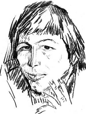 Владимир Старовойтов. «Иллюстрация к книге. Андрей Камалов»